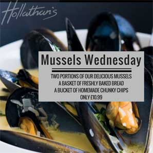 Mussels Wednesday